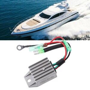 Image 5 - 4 Wire Boat Voltage Regulator Rectifier Fit Universal 2 Stroke 15HP Marine Boat Outboard Aluminium Alloy Boat Accessories Marine