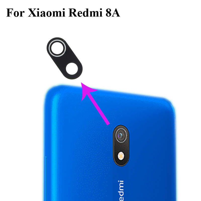High quality For <font><b>xiaomi</b></font> Redmi 8A <font><b>8</b></font> A Back Rear <font><b>Camera</b></font> <font><b>Glass</b></font> Lens test good Replacement Parts XIao <font><b>mi</b></font> redmi <font><b>8</b></font> A image