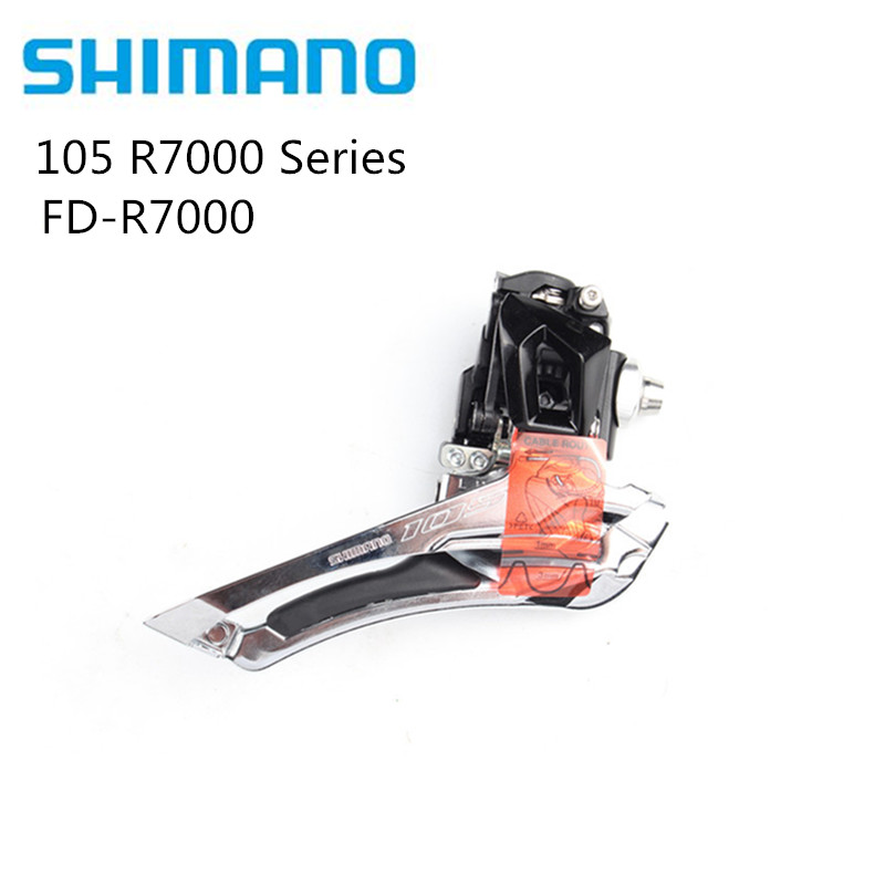 Shimano 105 FD-R7000 2 x 11 speed Road Bike Braze-on Front Derailleur R7000 Series update from 5800