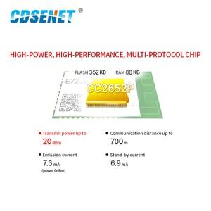 Image 5 - CC2652P ZigBee Bluetooth Multi protocol 2.4GHz SMD Wireless SoC Module 20dBm Transceiver Receiver PCB Antenna E72 2G4M20S1E