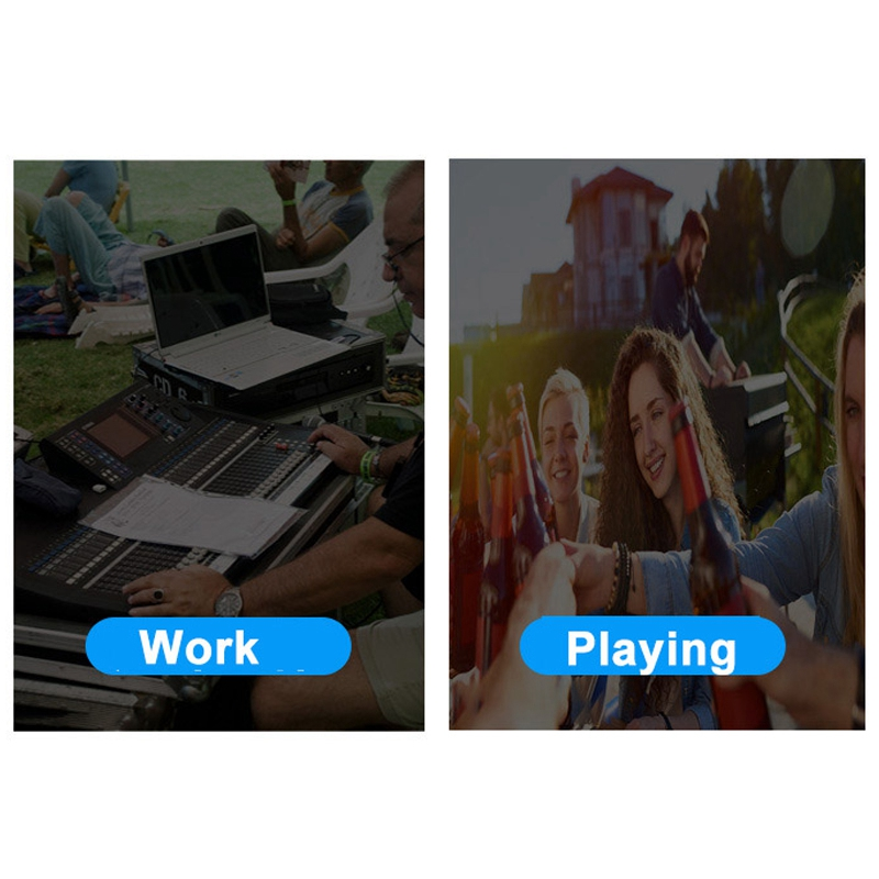 Profesional 4 Channel Bluetooth Mixer o Mencampur Konsol DJ dengan Efek Reverb untuk Karaoke Rumah USB Live Stage KTV