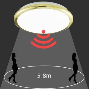 Image 5 - Zerouno hallway corridor aisle stair Motion Sensor LED Ceiling Light modern Lights 18W 30W 32W kitchen bathroom Ceiling Lamp