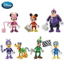 7 10 см шт фигурки героев Диснея Микки Минни Маус принцесса