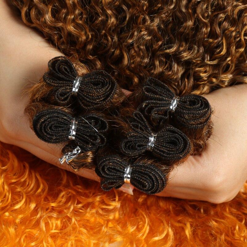 marrom 22-26 polegada tecer cabelo sintético pacote