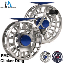 Maximumcatch Water-resistant Super Light Clicker Drag 2-6wt Black/silver Fly Fishing Reel