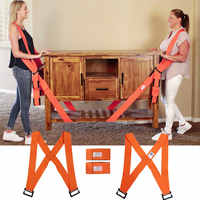 Non-Slip Furniture Moving Strap Lifting Shoulder Rope Moving Lift Aid Tool Transport Belt Carry Cords Mover Rope