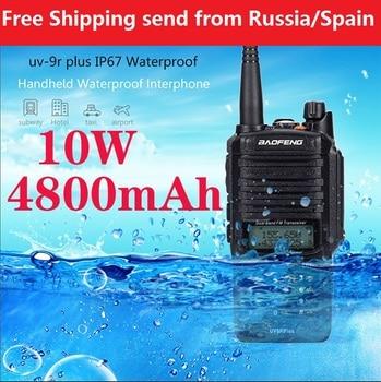 2020 new baofeng UV-9R plus uv-9R and A58 Upgrade version VHF UHF portable cb radio comunicador Waterproof walkie talkie - discount item  41% OFF Walkie Talkie
