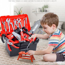 Toys-Drill Toolbox-Kit Puzzle-Toys Game Educational-Toys Repair-Tools Engineering Learning