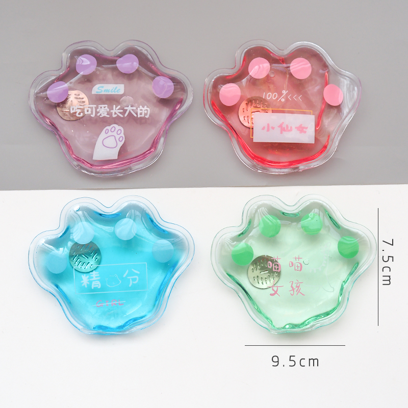 Details about  /Mini Winter Reusable Gel Hand Warmer Cute Funny Word E6B4 Heating Print A8L2