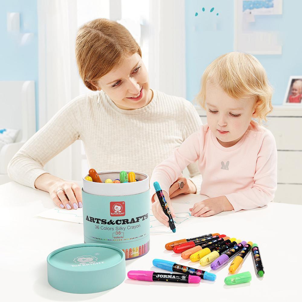 Baby Brush-Washing Rotating Children Crayon CHILDREN'S Painting Pen Graffiti Tu Se Bi Crayon Wholesale