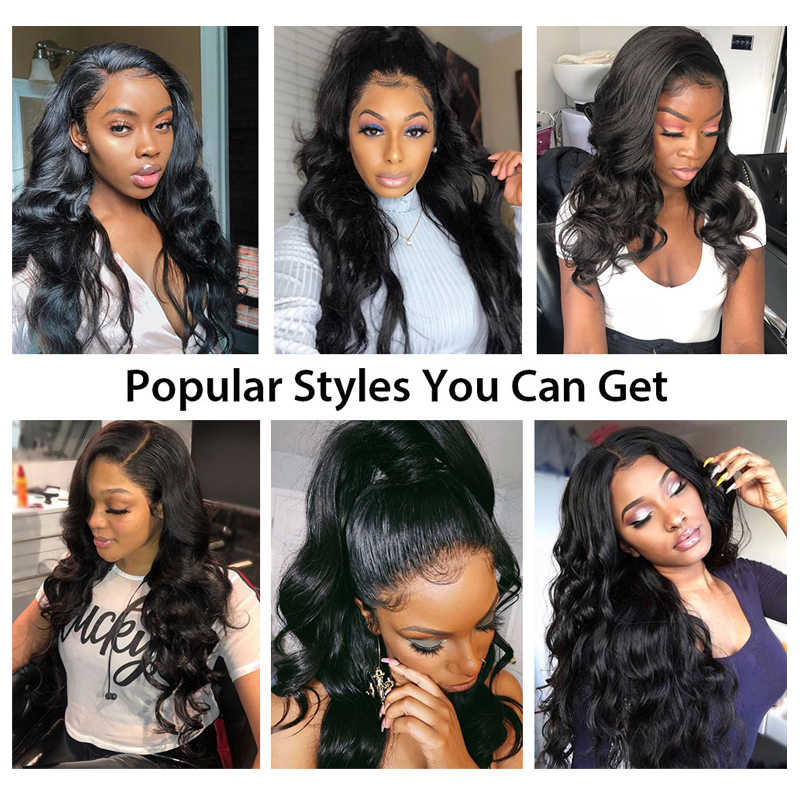 Silk Base Wigs Human Hair Wigs Silk Base Body Wave Human Hair Wigs 13×4  Lace Frontal Wig For Black Women Pre Plucked Baby Hair