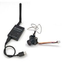 ミニ 5.8 グラム FPV 受信機 UVC ビデオ下り OTG VR + 5.8 グラム 48CH 25MW 100MW 切替 600TVL FPV カメラ内蔵の送信機 rc