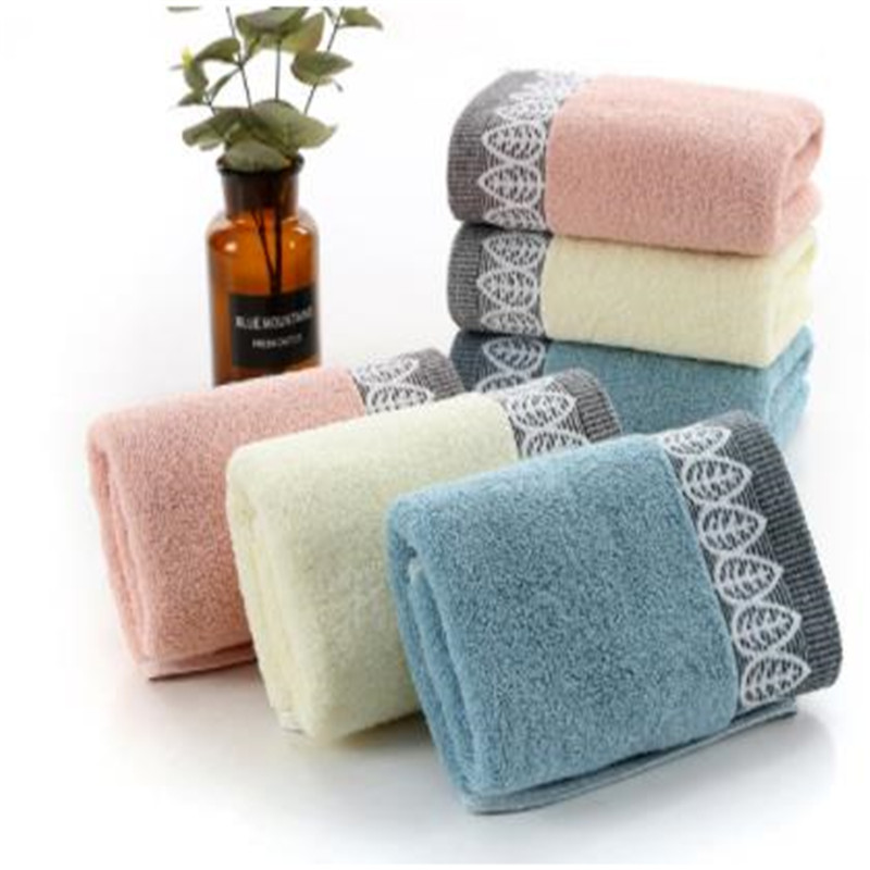 Pure Cotton Jacquard Towel Gift Custom, Super Hot Upset Bibulous Daily Washing Towel That Occupy The Home  0068