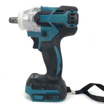 18V Electric Brushless Impact Wrench Rechargeable 1/2 Socket Wrench LED Light - DISCOUNT ITEM  22 OFF Tools