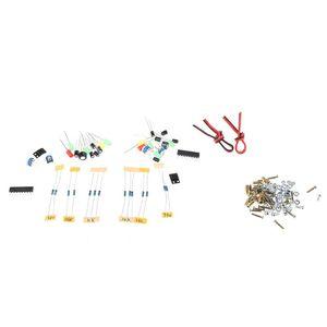 Image 4 - Mini 3W głośnik DIY Kit z przezroczysta powłoka dźwięk komputerowy elementy elektroniczne Dropship