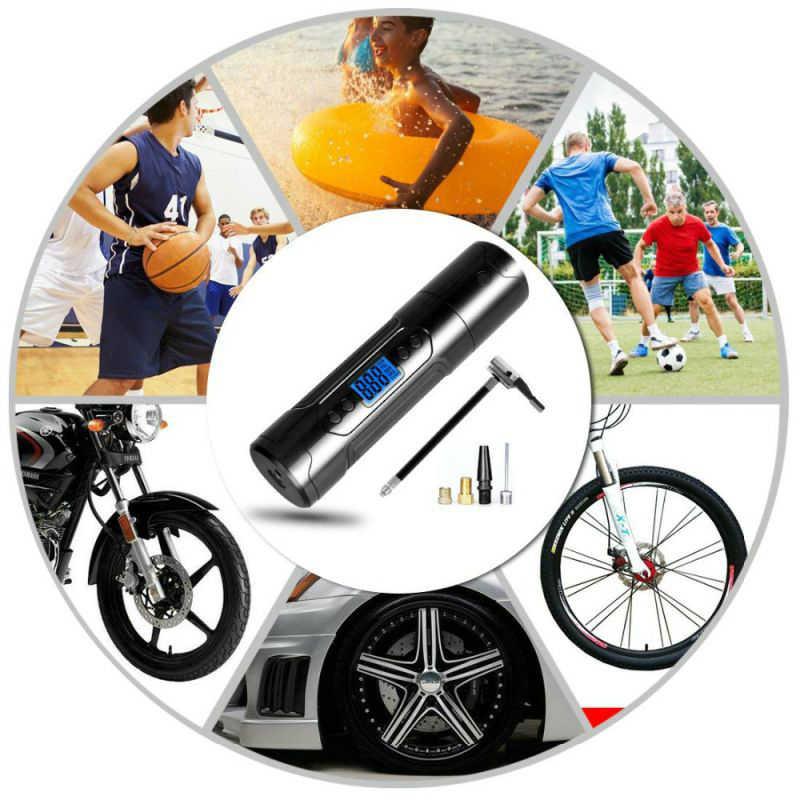 נייד מדחס אוויר צמיג Inflator מיני inflator אוויר משאבת אלחוטי צמיג מכונית עם סוללה 150PSI 12V לרכב אופניים