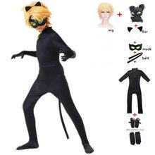 Anime enfant chat Noir Noir Cosplay déguisement jouet accessoires Halloween carnaval coccinelle fille Marinette Super héros Cosplay combinaison