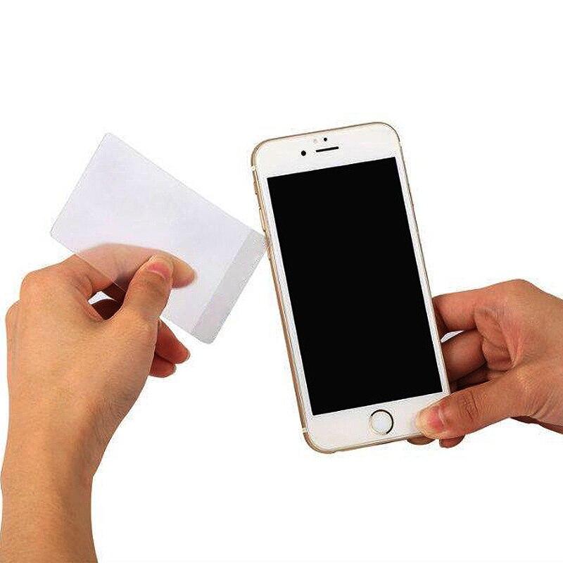 5pcs New Practical Plastic Card Pry Opening Scraper Tools For Tablet Mobile Phone Screen Repair Open Tool