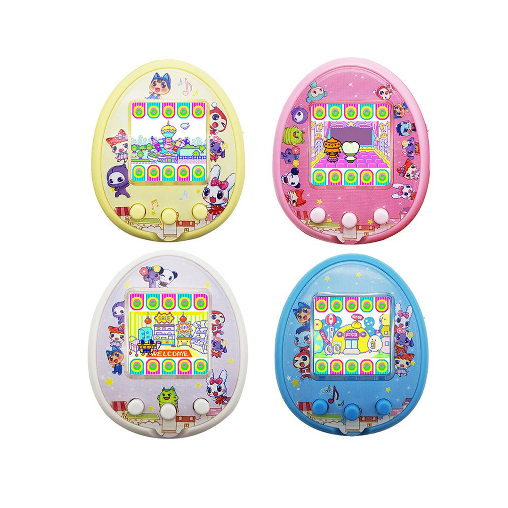 Kids Funny Electronic Pets Toys For Qpet Plastic Non-Extended Singer Pet Egg Interactive Pet Game Machine