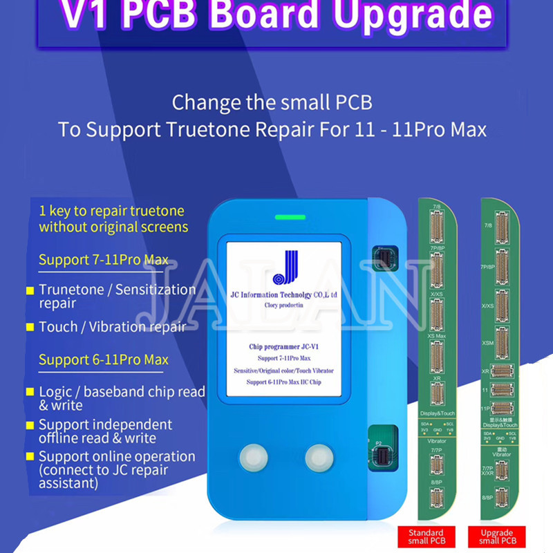 NEW JC V1 Upgrade PCB Board  11 11Pro Pro Max Light Sensor True Tone Recovery Programmer Repair For IPhone X 8 8p Plus XS MAX