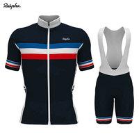 Koszulka kolarska Aleing Pro oddychająca koszulka kolarska Bib krótki zestaw Ropa Ciclismo mężczyźni lato szybkoschnący mistrz odzież Triathlon w Zestawy rowerowe od Sport i rozrywka na
