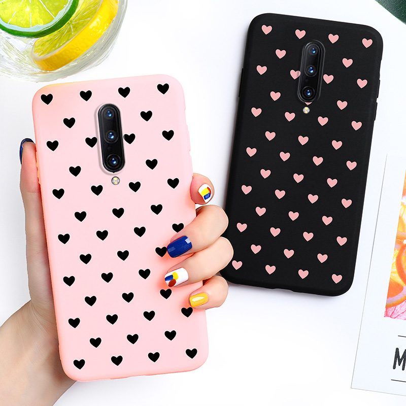<font><b>3D</b></font> DIY Painted <font><b>Case</b></font> For <font><b>OnePlus</b></font> 7T 7 Pro <font><b>6</b></font> 6T <font><b>Cases</b></font> Silicone Soft Candy TPU Back Cover Coque For One Plus 7 Pro <font><b>6</b></font> 6T 7T Bumper image