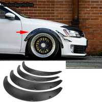Auto Car Wide Body Wheel Arch Fender Guard Protector Flares fit for Gt86 BRZ Lexus Infiniti Subaru Mitsubishi