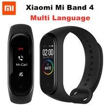 Xiao mi mi Band 4 NFC Smart Band 0,95 zoll AMOLED 120X240 Volle Farbe Screen Bluetooth 5,0 Armband 50m Wasserdicht Smart Armband