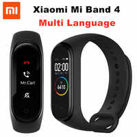 Xiaomi Mi Band 4 NFC Smart Band 0.95 inch AMOLED 120X240 Full Color Screen Bluetooth 5.0 Wristband 50m Waterproof Smart Bracelet