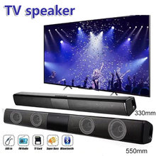 TV Speaker Bluetooth Speakers for PC Computer Soundbar Bass Stereo Sound Bluetooth Subwoofer Column Support FM Radio AUX TF RCA