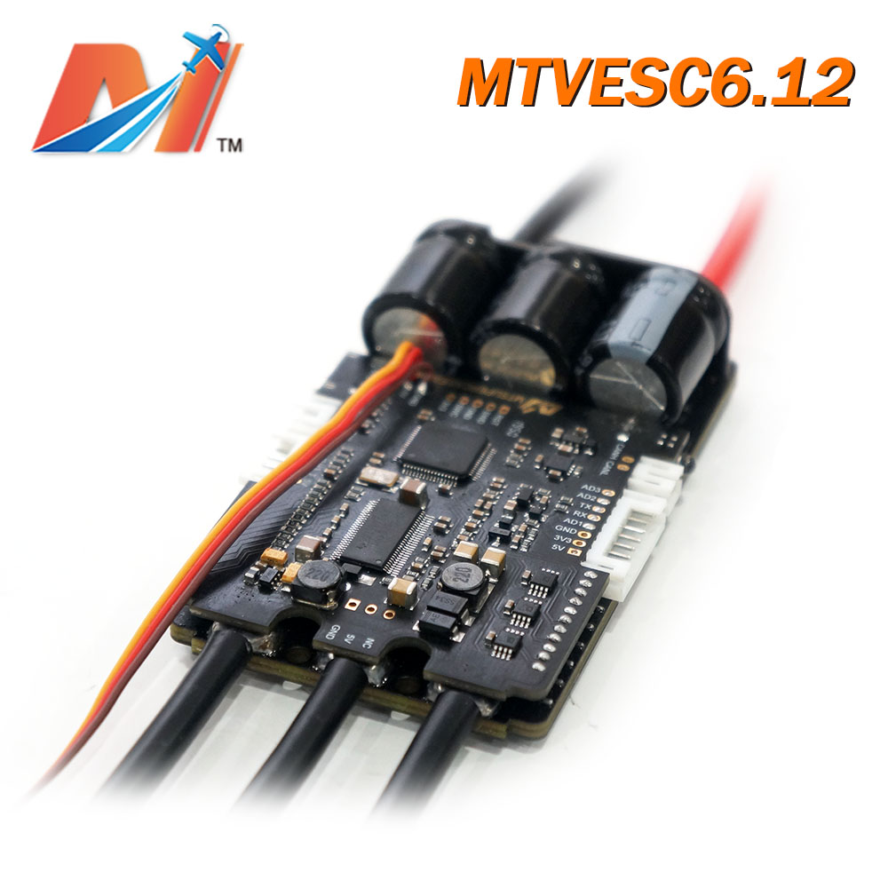 Maytech 200A ESC Based On VESC6 Vesc Controller SuperCase200A With Anti-spark Switch For Electric Skateboard Kit Mountainboard