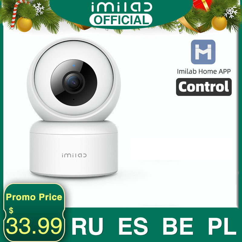 1080P HD Home Camera C20 APP WiFi Security Night Vision Camera Surveillance Baby Monitor H.265 Sound Detection Global Version 1