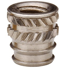 IUC-256 Brass Insert Nut knukles Nuts Insertos Knurling Copper Rivnut Threaded Thru Inserts-Types Knurled Inserti PEM Standard