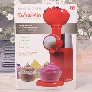 Image 4 - Big Boss Swirlio Automatic Frozen Fruit Dessert Machine Fruit Ice Cream Machine Maker Milkshake Machine