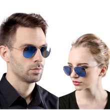 Fashion Aviation Pilot Driving Sunglasses color Glass lens UV400 Men Woman Luxury Brand 3025 3206 Logo Shade Top Quality
