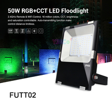 Miboxer FUTT02 RGB+CCT  50W LED Floodlight AC100~240V waterproof IP65 led Outdoor Light Garden lamp counter h7bx aw ac100 240v
