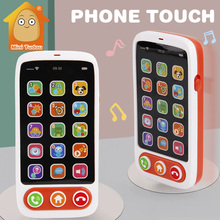 Kids Learning Toys Baby Phone Toy Machine With Light Music Baby Mobile Cellphone Children Educational Toys For Babies kids children tablet educational learning toys gift for girls boys baby learning machine educational teach toy pad mini pc