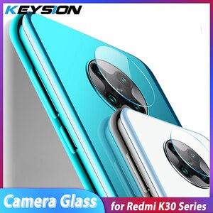 KEYSION szkło do aparatu Xiaomi Pocophone F2 X2 HD szkło bezbarwne szkło ochronne do Redmi Note 9S 9 Pro Max K30 K30 Pro 5G
