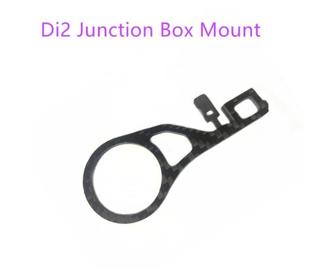 Bicycle Di2 Junction Box Mount Di2 EW90A EW90B Junction Adapter Carbon Holder For 28.6mm Fork