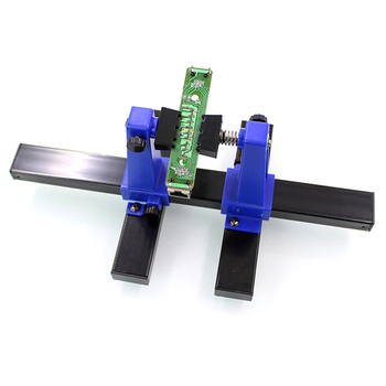 цена на Portable PCB Holder 200MM Circuit Board Holder Fixture Soldering Stand Clamp Repair Tool For Soldering Repair