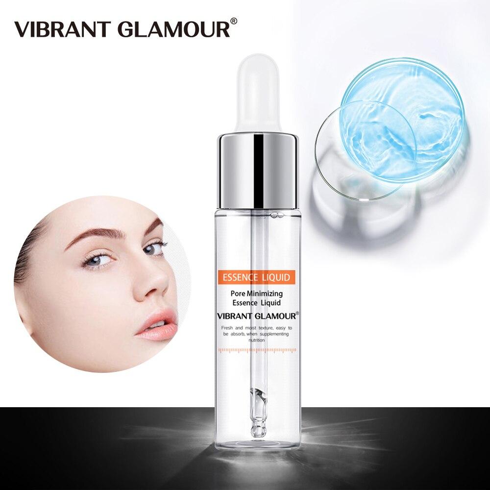 VIBRANTE GLAMOUR Diminuir Os Poros Rosto Clareamento Soro Ácido Hialurônico Líquido Hidratante Anti Rosto Rugas Essência Planta do Cuidado Da Pele
