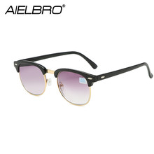 AIELBRO Fashion Sunglasses Men Polarized Driving Sunglasses Male Customized Myopia Optics Reading Glasses Eyewear Sun Glasses очки nike optics rabid p matte crystal mercury grey volt green polarized lens