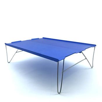 Przenośny stół piknikowy zewnętrzna lampa stołowa składany stół kempingowy stół wędkarski kompaktowy składany Roll Up stół plażowy tanie i dobre opinie CN (pochodzenie) Metal Aluminium Minimalistyczny nowoczesny Montaż Rectangle size Na zewnątrz tabeli Meble ogrodowe model