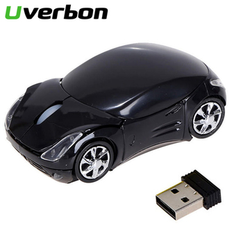 New 2.4GHz Wireless Mouse Sports Car Styling Gaming Mouse USB Bluetooth Receiving Smart Sleep Mode Office Mouse for PC Laptop image