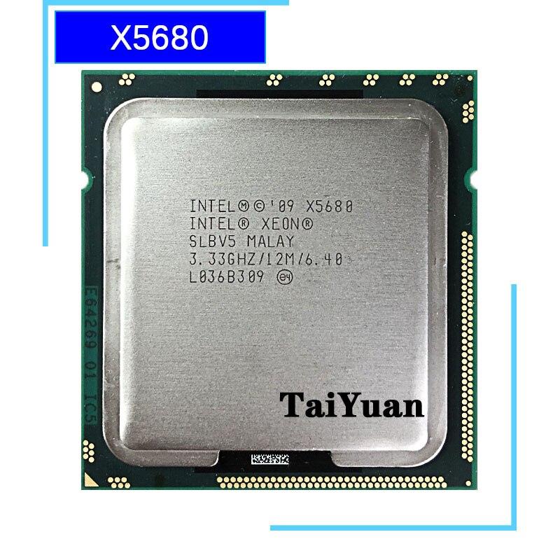 Шестиядерный процессор Intel Xeon X5680 3,3 ГГц 12 м 130 Вт LGA 1366