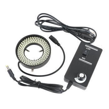 64mm152 LED Lamp Bead Illumination Microscope Adjustable Light Source Adjustable Ring Light Split Type