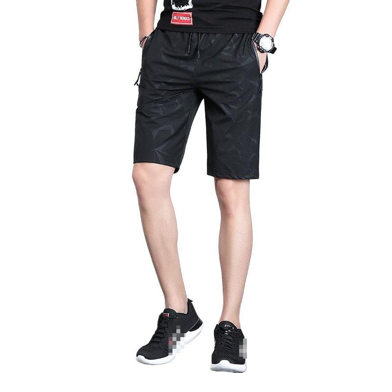 Men's Summer Shorts Fashion Thin Sports Running Pants Casual Sport Jogging Comfortable Plus Size Fitness Bodybuilding Shorts