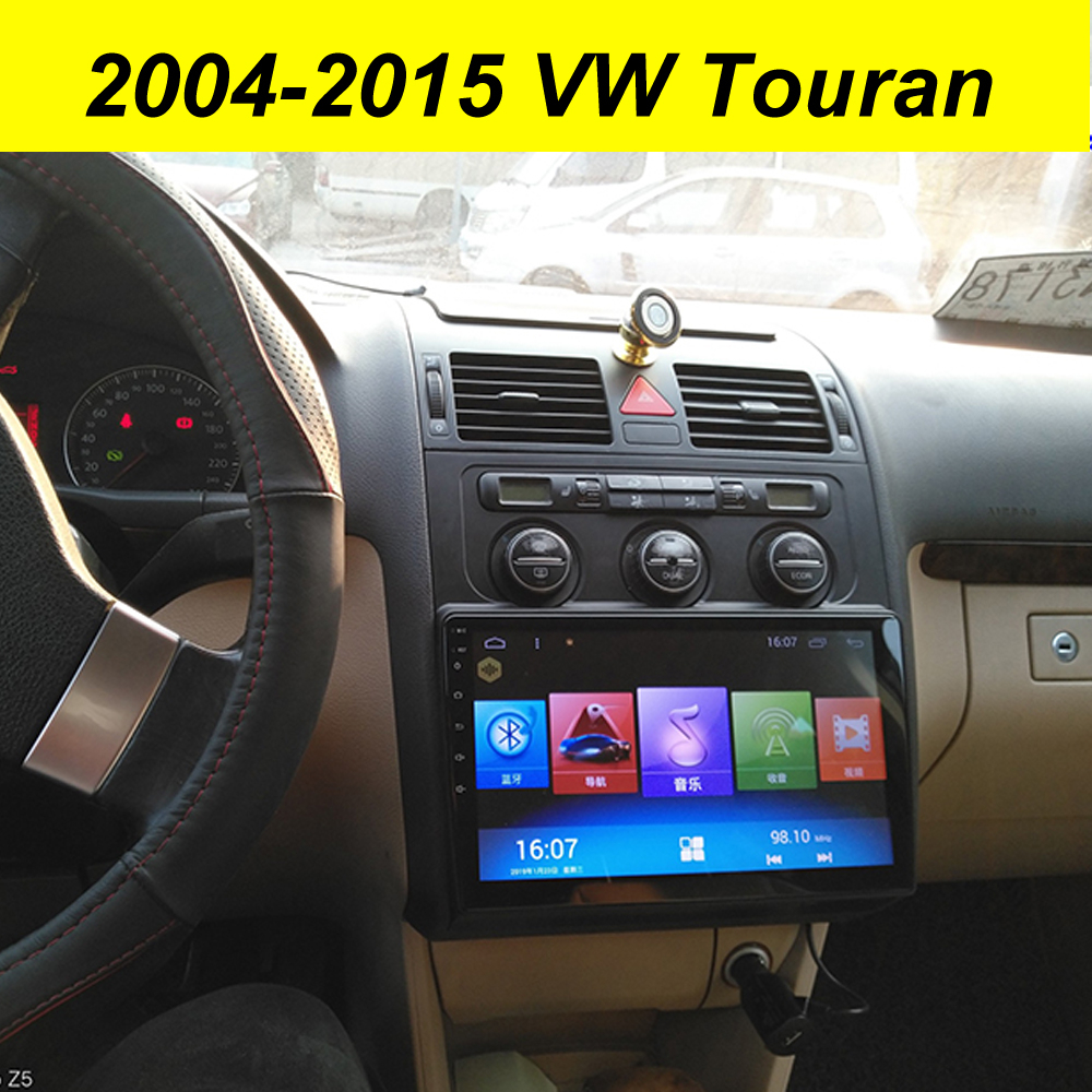 64GB Android 10.0 2Din Car Multimedia GPS For <font><b>Vw</b></font> <font><b>Touran</b></font> 2010 <font><b>2009</b></font> Autoradio BT Navigation Stereo Head Unit Tape Recorder Radio image