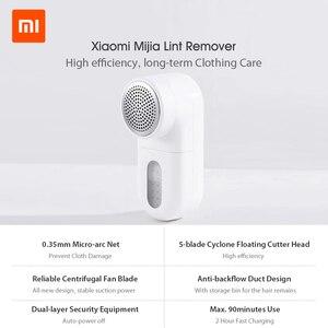 Image 2 - Xiaomi Norma Mijia Lint Remover USB Della Lama Piccola Spazzola di Tela di Protezione Macchina di Taglio di Tessuti Fuzz Rasoio per Maglioni Tappeti Abbigliamento