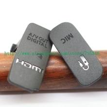 גבוהה איכות USB /HDMI תואם מיקרופון גומי כיסוי עבור Canon EOS 650D Rebel נשיקת T4i X6i / 700D נשיקה X7i Rebel T5 מצלמה